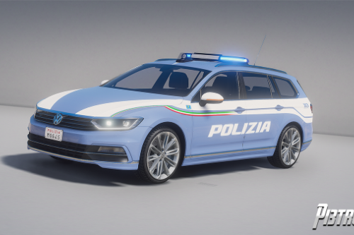 Volkswagen Passat - Polizia di Stato [Add-On]