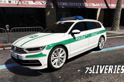 Volkswagen Passat - Polizia Locale (Paintjob | FiveM)