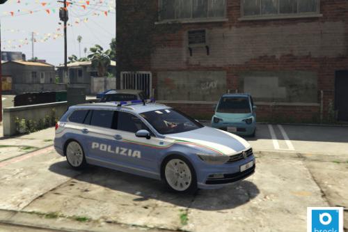 Volkswagen Passat Polizia Stradale