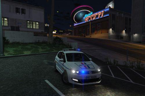 Volkswagen Polo Mk5 Politia Romana / Romanian Police