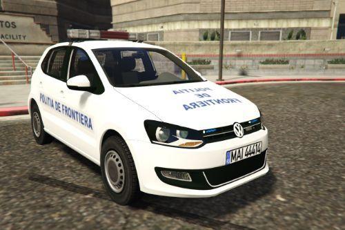 Volkswagen Polo MK5 Romanian Border Police