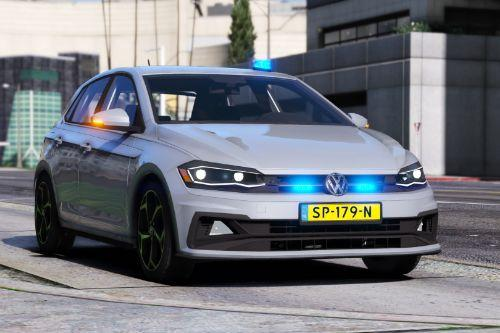 Volkswagen Polo R-line Police / Politie Unmarked [ELS | Replace]