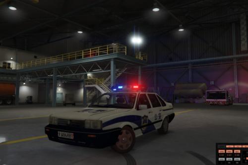 Volkswagen Santana Chinese Police [ELS] 大众桑塔纳中国警车
