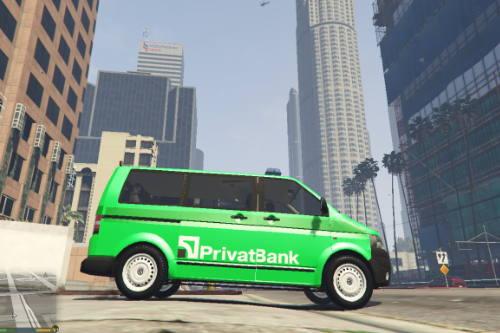 Volkswagen T5 - PrivatBank Collectors