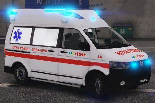 Volkswagen T5 - Hitna Pomoc Sarajevo