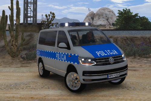 Volkswagen T6 Polish Police