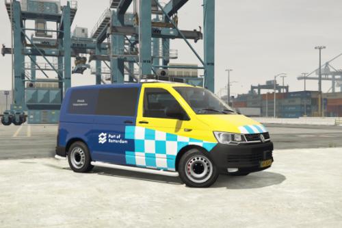 Volkswagen T6 Port of Rotterdam Havenmeester [Dutch] [ELS]