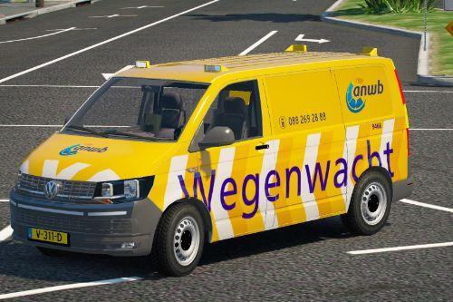 Volkswagen T6 Wegenwacht V2 / Dutch Mechanic [ Addon / Els ]