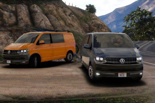 Volkswagen t6 with extra's