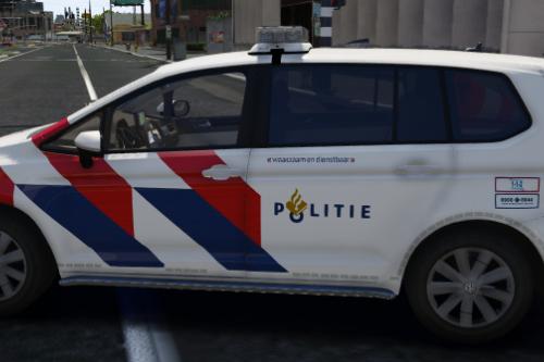 Volkswagen Touran 2016 Nederlandse Politie / Dutch Police [Dutch] [OOV]