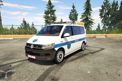 Volkswagen Transporter | Palestine Police |  الشرطة الخاصة