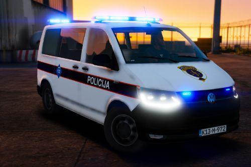 Volkswagen Transporter T6 - Sarajevo Police - MUPKS