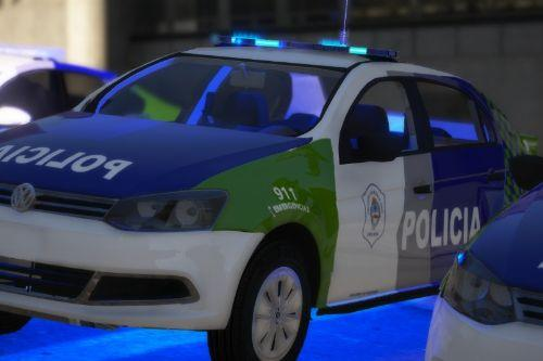 Volkswagen Voyage de la Policía Bonaerense (Argentina)