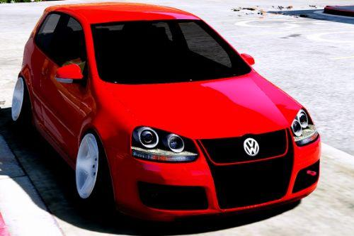 Volskwagen Golf MkV Stance [Add-On / Replace]