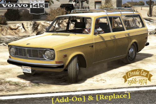 Volvo 145 [Add-On / Replace | Extras | Tuning | Livery | Template | LODs]
