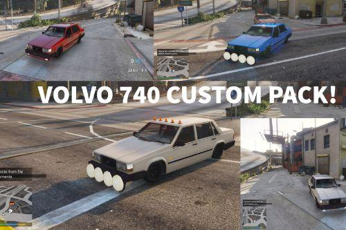 Volvo 740 Custom Pack!