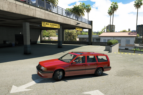 Volvo 850R [Add-On|Replace|Wipers|Animated]