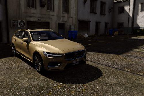 Volvo V60 2018 [Add-On / Replace]