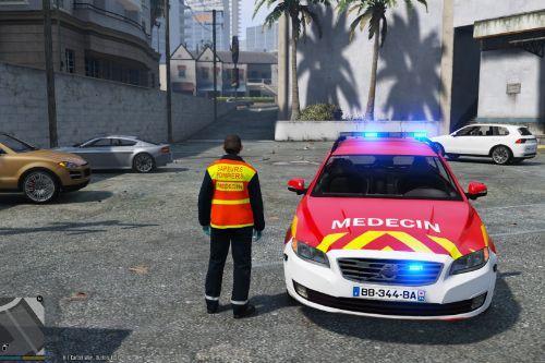 Volvo V70 Secours Medical des Sapeurs Pompiers