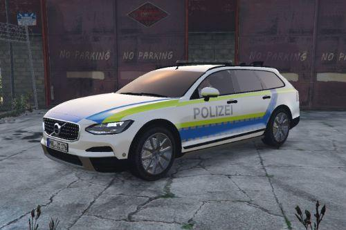 Volvo V90 Cross Country | Polizei Deutschland Paintjob fiktiv!