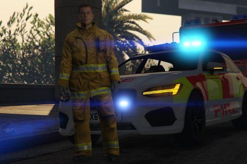 Volvo V90 | Fire Officer Car | Fictional [ELS]