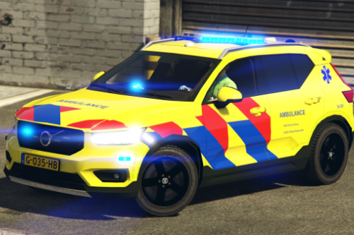 Volvo XC40 Ambulance [Replace/ELS]