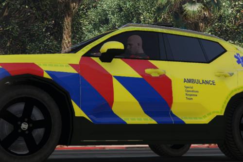 Volvo XC40 Ambulance S.O.R.T.