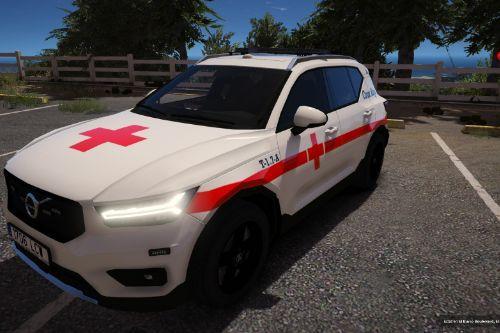 Volvo XC40 Cruz Roja Española of Spain/España[FiveM-Replace-ELS]