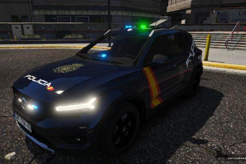 Volvo XC40 Policia Nacional/CNP of Spain/España[FiveM-Replace-ELS]