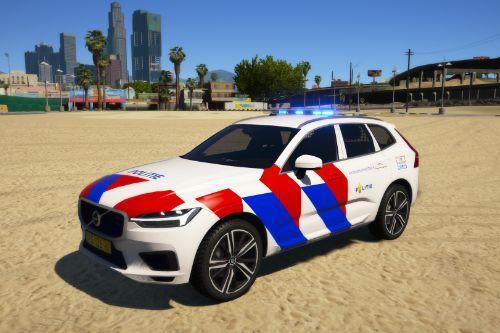 Volvo XC60 | Politie | Stopbord | ELS | OOV | Fictional | Dutch/NL