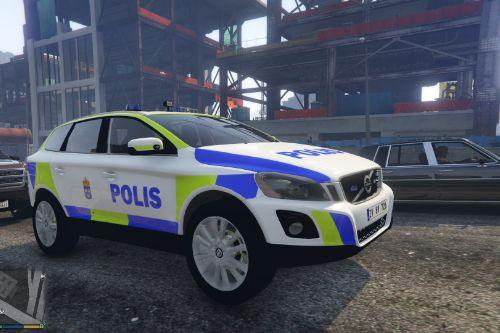 Volvo XC60 Swedish Police Unit