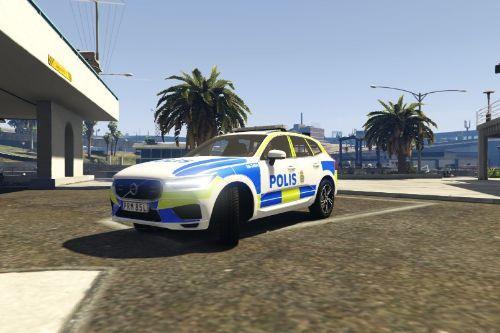 Volvo XC60 Swedish Police