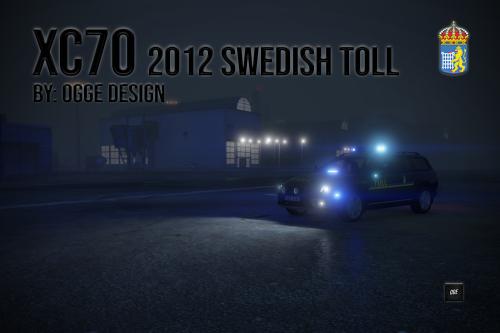 "Volvo XC70 2012 ""Swedish Toll Livery"" + M-Båge"