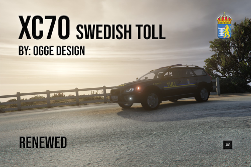 "Volvo XC70 2016 ""Swedish Toll Livery"""