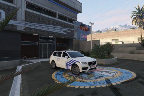 Volvo XC90 Belgian Police