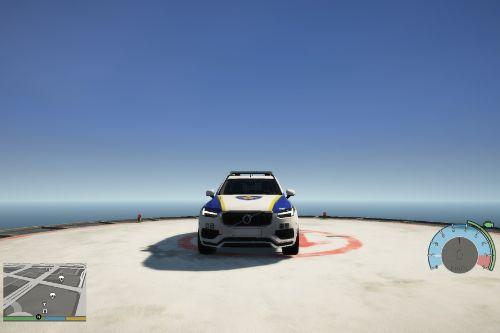 Volvo XC90 Korean skin police car/볼보 XC90 한국 스킨 경찰차