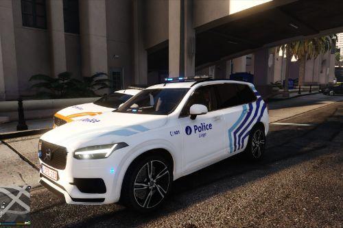 Volvo XC90 Police locale Liège Belgian police / Belgische politie