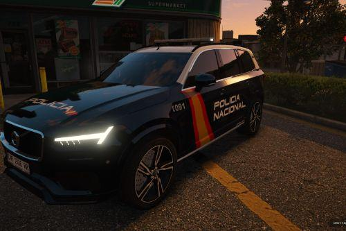 Volvo XC90 Policia Nacional/CNP of Spain/España[FiveM-Replace-ELS]