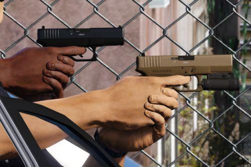 Vom Feuer Combat Pistol [Animated]