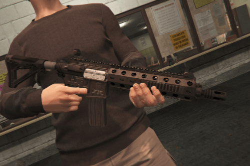 Vom Feuer Tactical Carbine [Add-On / Replace | Animated | Tints]