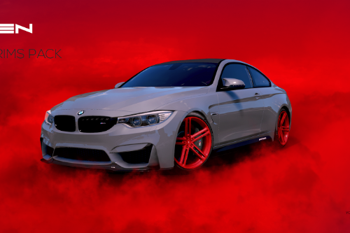 Vossen B-Rims Pack #2 (CG Series) [Add-On / Replace]