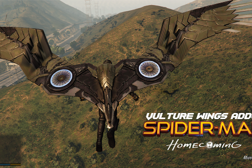 Vulture Wings (spiderman home coming) [Addon]