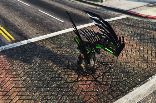 Vulture Wings (amazing spiderman 2) [Addon]