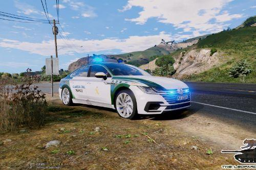 VW Arteon 2017 Guardia Civil Trafico