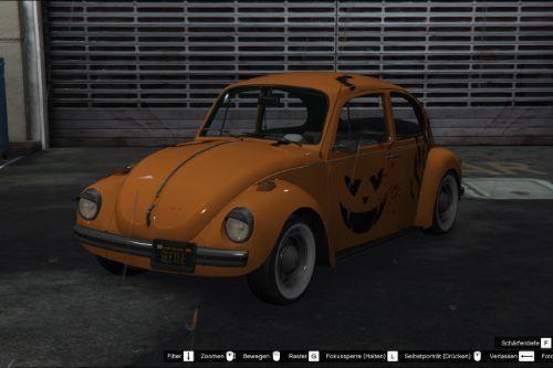 VW Beetle 74' livery / HALLOWEEN SPECIAL / Bloody Pumpkin Bats livery