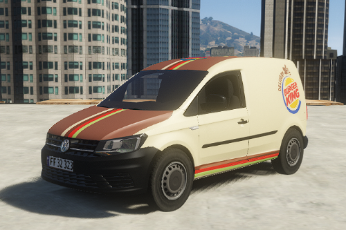 VW Caddy Burgerking