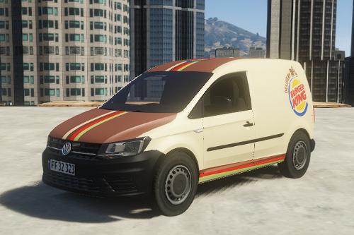 VW Caddy Burgerking (ADDON / FiveM)