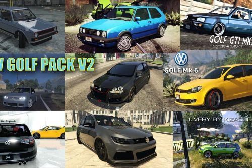 Volkswagen Golf Add-On Pack [Mk1-Mk7]