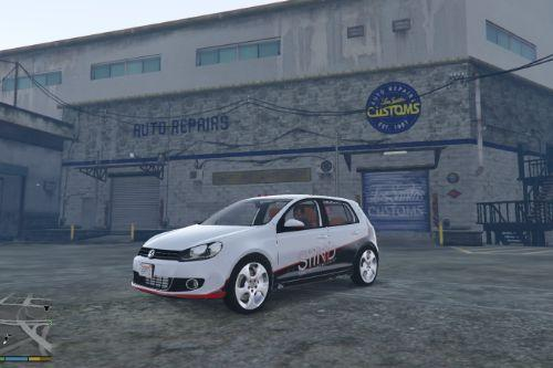 VW Golf MK6 Livery - Sidney Industries
