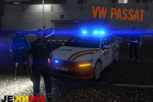 Volkswagen Passat - Belgian Federal police (Federale politie)